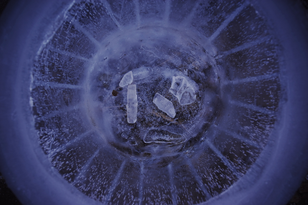 氷のバケツ