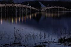 鶴の舞橋(岩木山リフレクション)