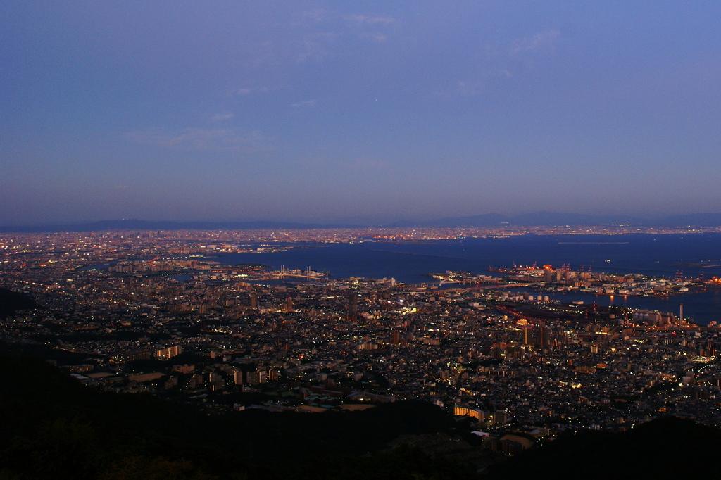 夕景 ~六甲山~