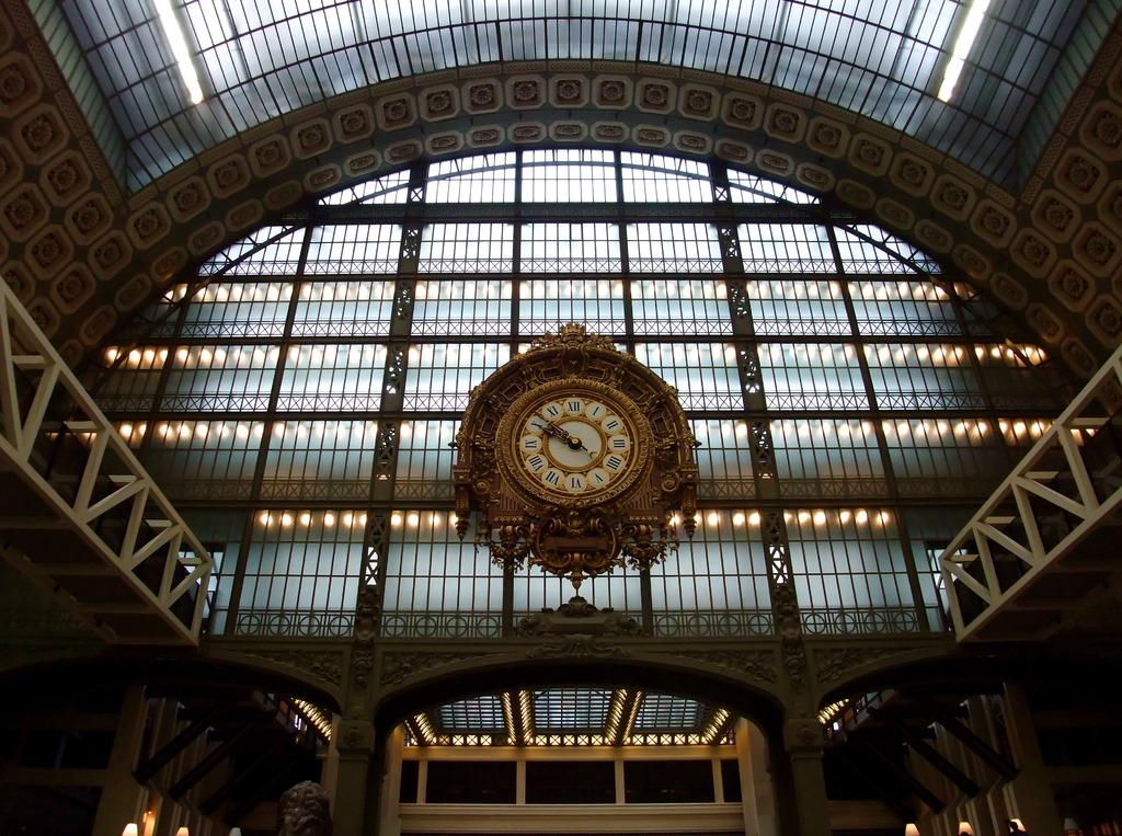 Horloge grand-père de Musée d'Orsay