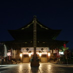 PENTAX PENTAX K20Dで撮影した建物(月夜の善光寺 御開帳)の写真(画像)