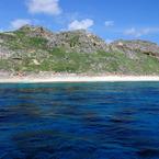 NIKON NIKON D80で撮影した風景(父島ジニービーチ)の写真(画像)