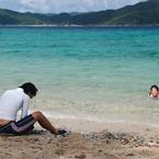 NIKON NIKON D80で撮影した風景(倉崎海岸)の写真(画像)