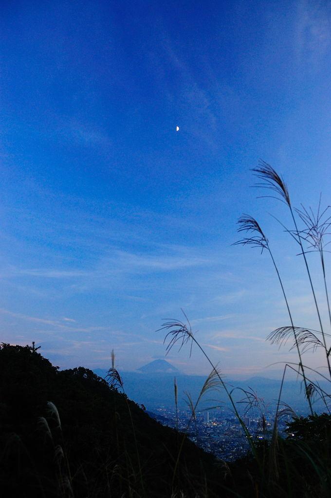 富士の夕暮れ
