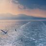The Winter Road in Ariake Sea