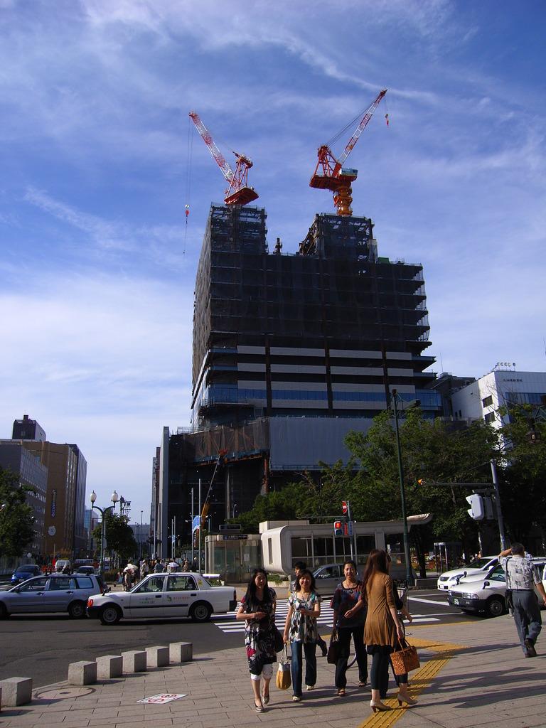 旧北洋銀行ビル後地