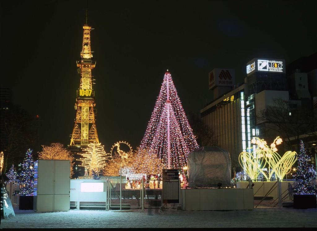 札幌ホワイトイルミネーション4