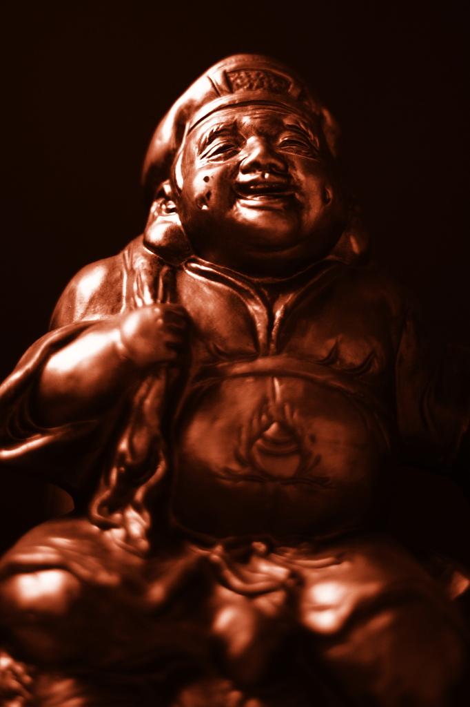 bronze of ebisu