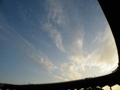 スタジアム上空