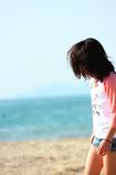初夏の砂浜
