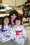 浴衣3姉妹