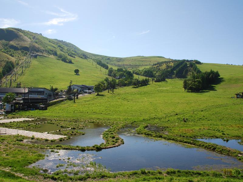 湿原と高原