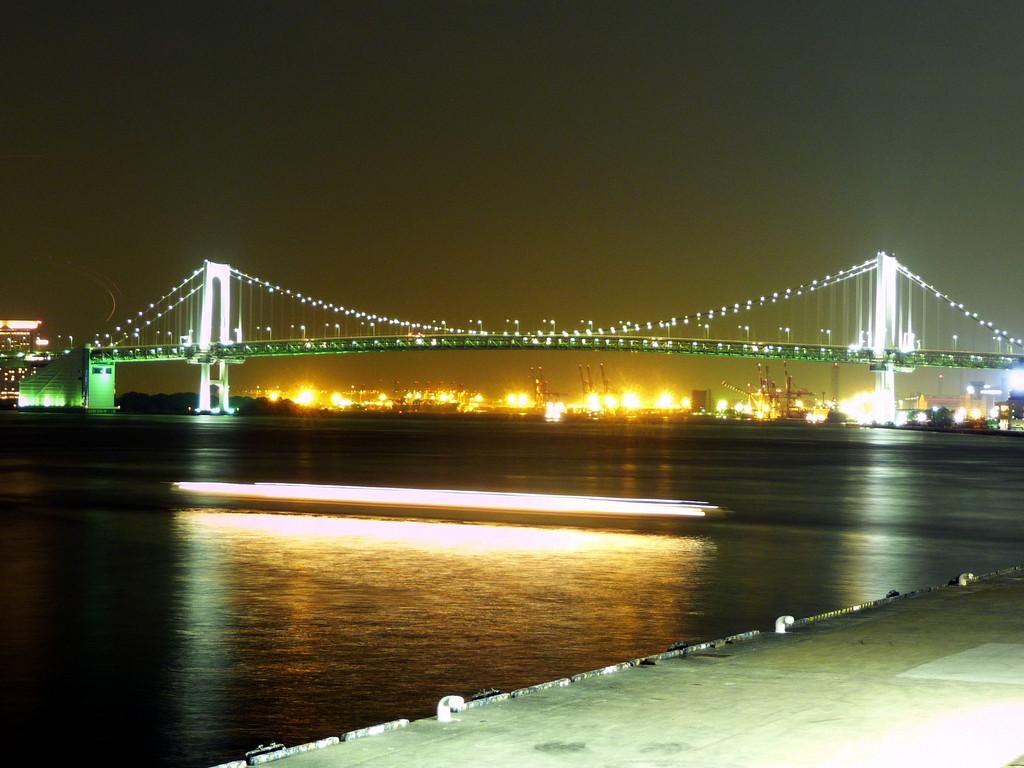 竹芝桟橋よりレインボーブリッジを望む(20081031-0011)