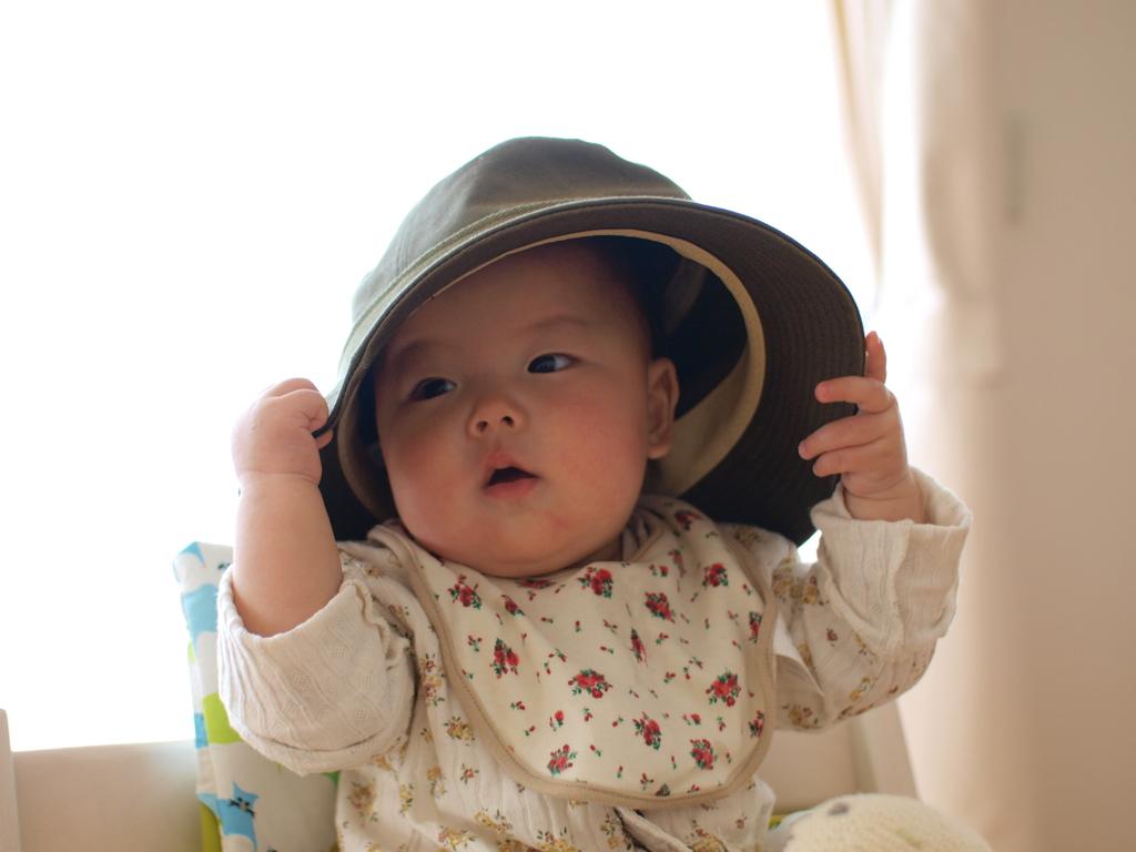 パパの帽子