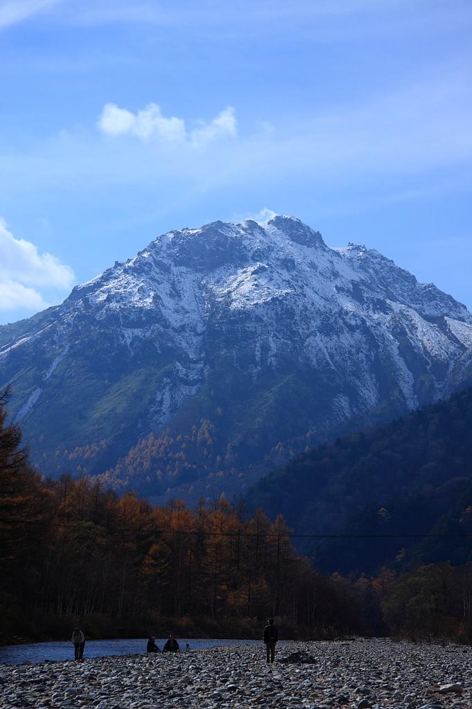 上高地 焼岳