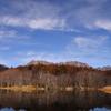 小鳥ヶ池からの冬山
