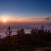 甘利山頂の朝