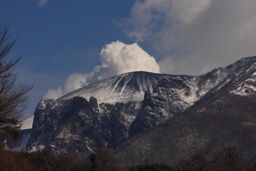 浅間山噴煙20秒前