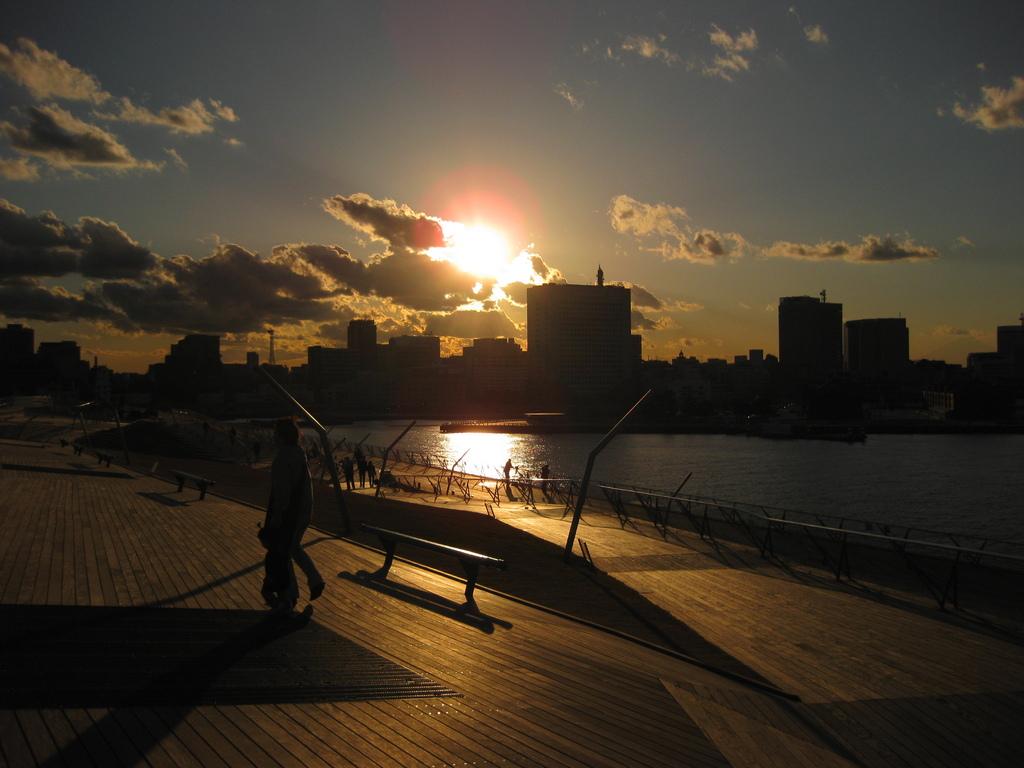 散歩/夕暮れ