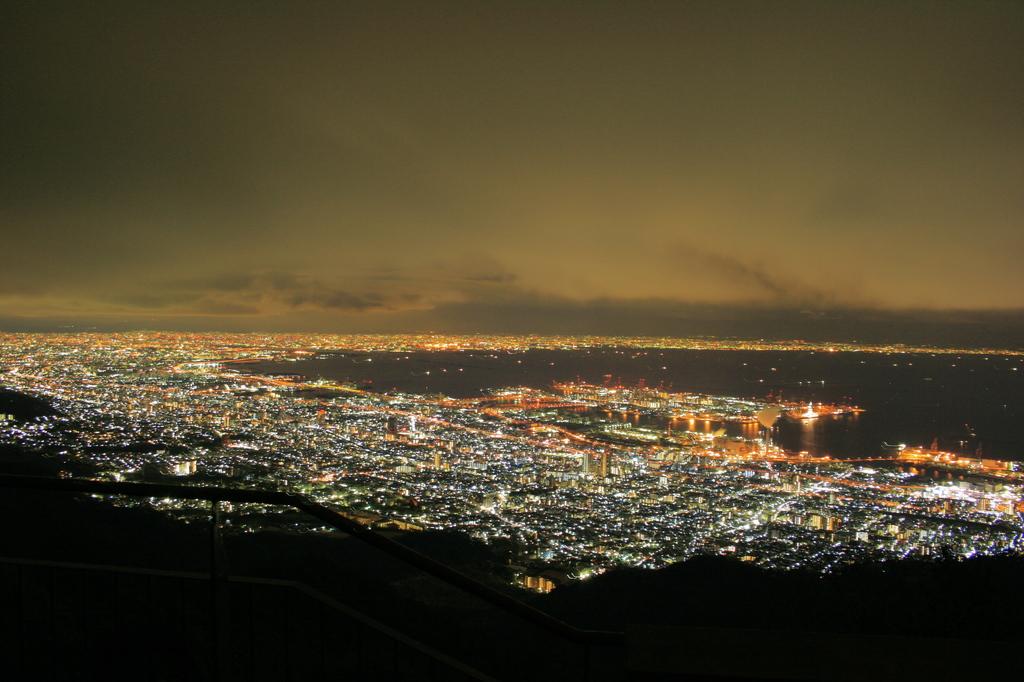 摩 耶 山 view