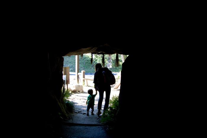 stone cave
