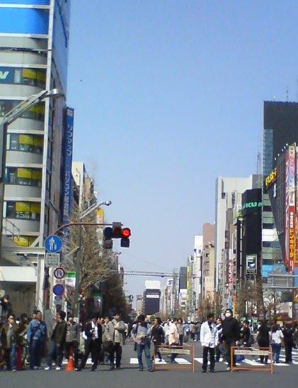 ★東京 秋葉原 歩行天があるとき-携帯