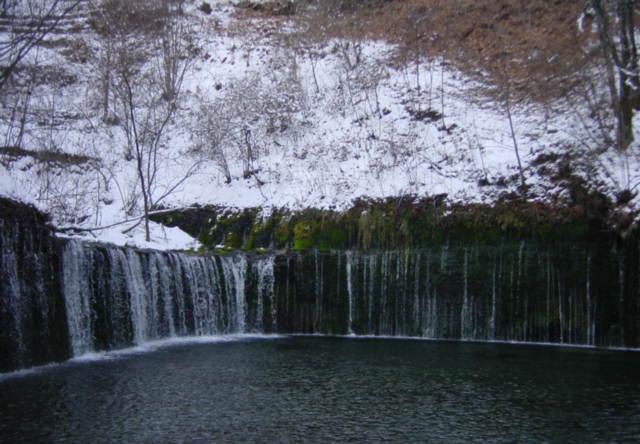 ★軽井沢 白糸の滝230-2001