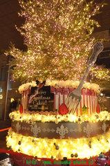 岩田屋クリスマスイルミ