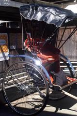鎌倉の人力車