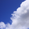 梅雨の谷間に夏色の青空
