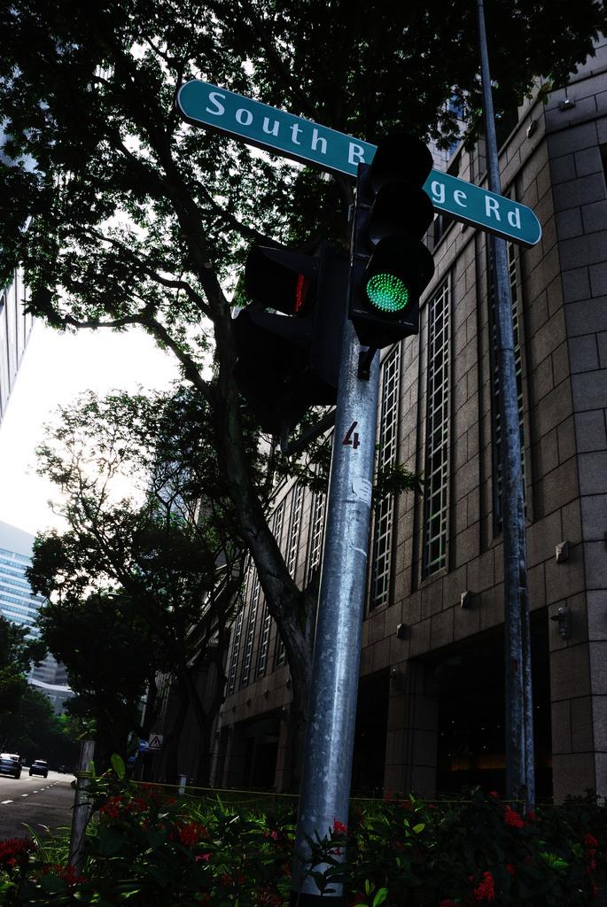 シンガポールの信号
