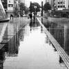 rough monochrome rain #1