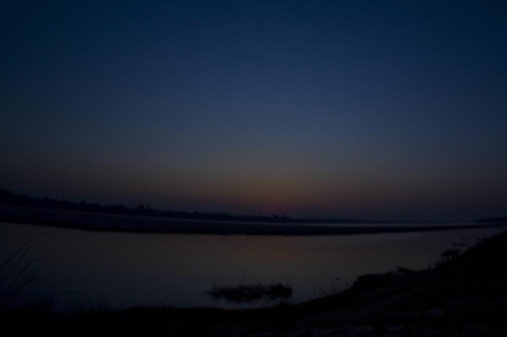 mekonの夕日