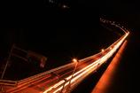角島大橋の夜