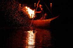 鵜匠たちの熱い夜