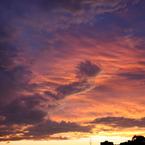 CANON Canon EOS Kiss X2で撮影した風景(台風一過)の写真(画像)
