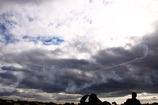 空にハート