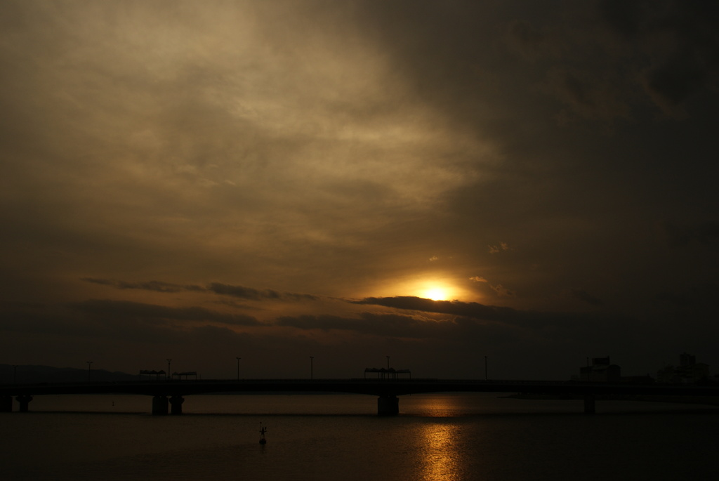 宍道湖夕景