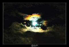 ある日の月