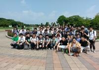 【夏合宿】集合写真@海ノ中道海浜公園
