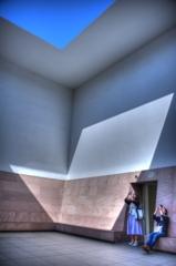 『金沢21世紀美術館 ブルー・プラネット・スカイ(タレルの部屋)』