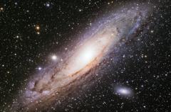 アンドロメダ銀河 《段階露光版》