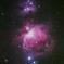 先日のオリオン大星雲 《段階露光 加算コンポ》