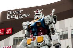 Diver City Tokyo THE GUNDAM