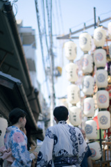 お昼の祇園祭