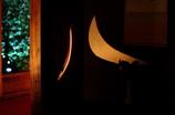 月の明かり