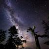 天の川と流星