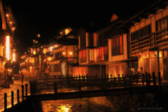 spa town of night...