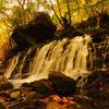 falls of autumn color...