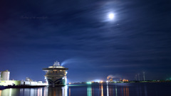 Sailing of the moonlight...